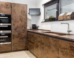 Fernöstliche Wohnküche